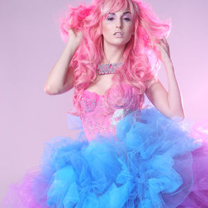 One of a Kind Colorful PARTY MONSTER Tutu Skirt